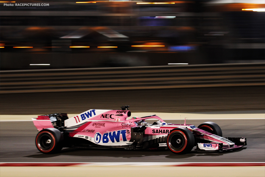 Sergio Perez (MEX) Sahara Force India F1 VJM11