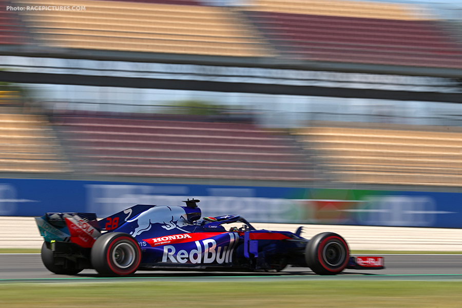 Brendon Hartley (NZ) Scuderia Toro Rosso.