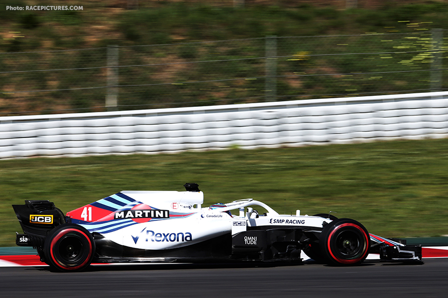 Oliver Rowland (GBR) Williams FW41 Test Driver.