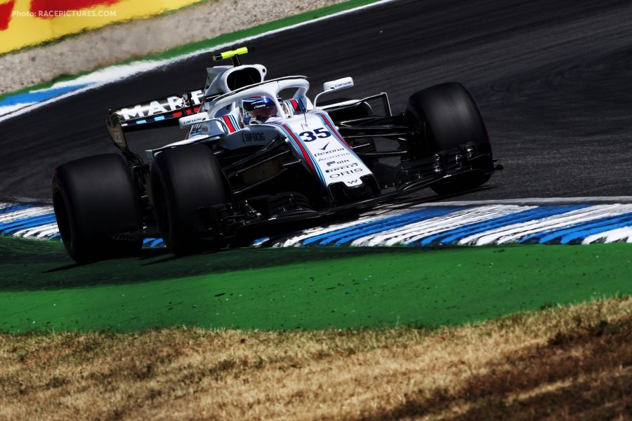 Sergey Sirotkin (RUS) Williams FW41.