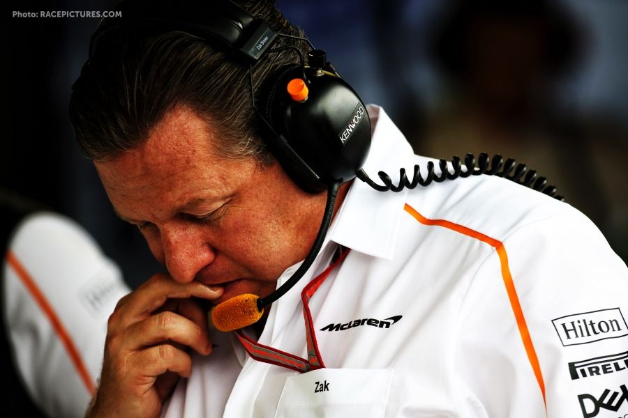 Zak Brown (USA) McLaren Executive Director.