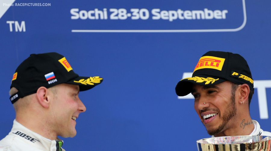 Lewis Hamilton wins GP Russia after team orders have been given to Bottas!
