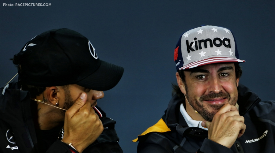 Alonso: Hamilton is not done winning titles