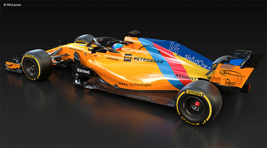 McLaren unveils special livery for Fernando's Alonso last race