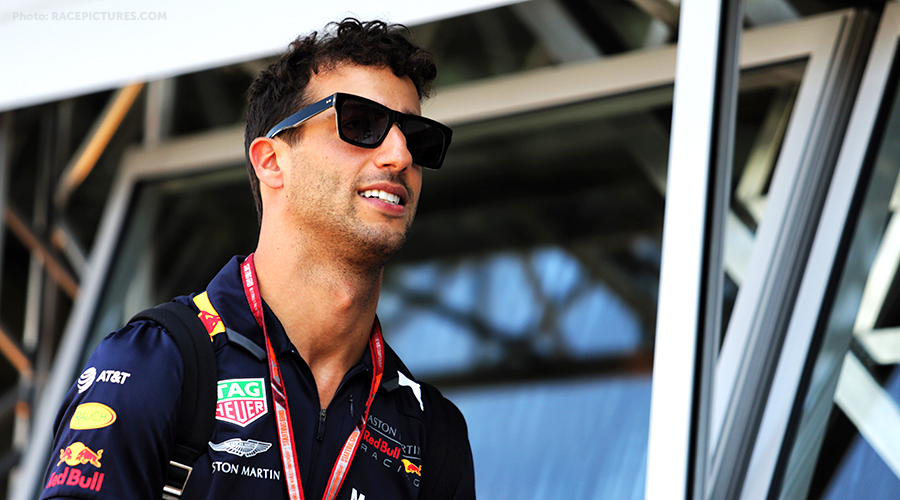 Daniel Ricciardo will start the Grand Prix of Germany from the last starting row!