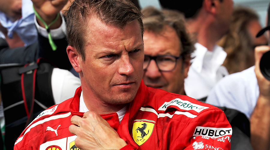 Do we have to miss the iceman next season in F1!