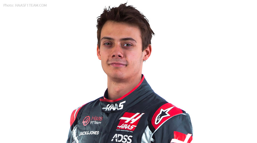 Louis Deletrez will be testing for Haas