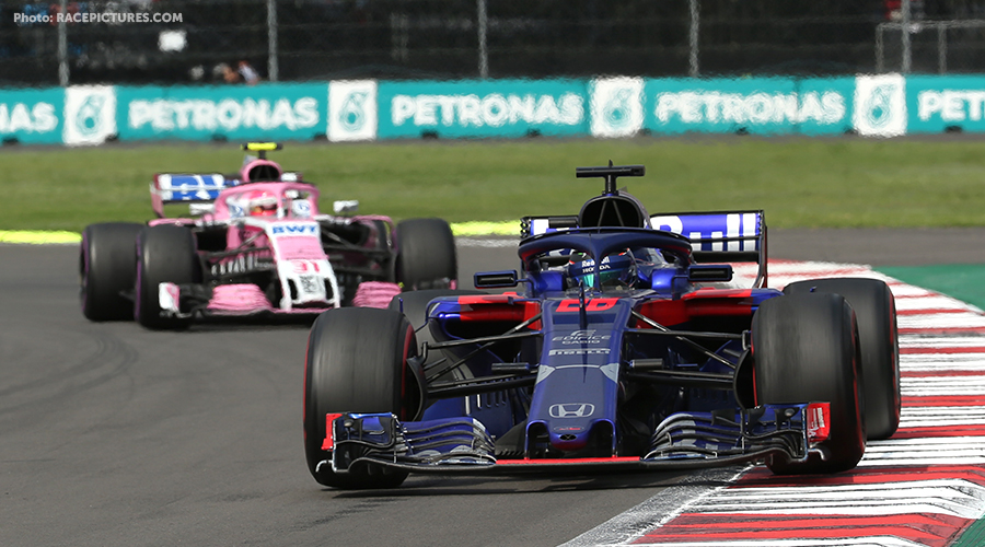 Hartley penalised for colliding with Ocon