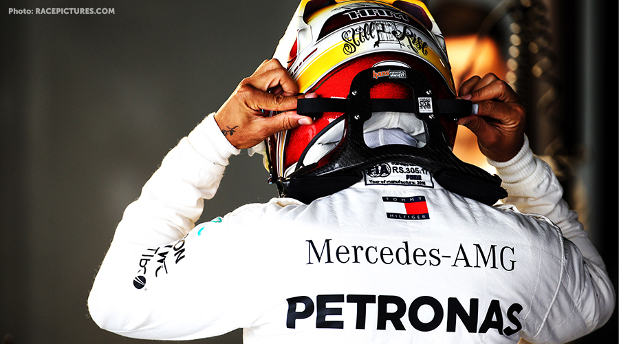 Hamilton dominant first two training sessions at Suzuka