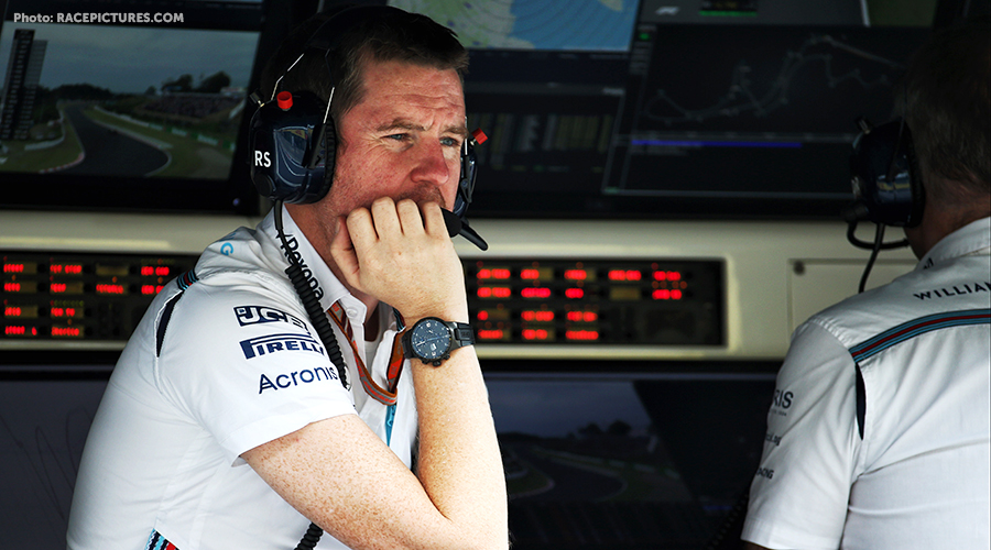 Rob Smedley to leave Williams at end of 2018