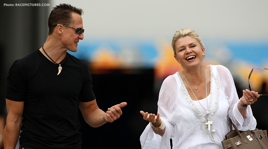 Michael Schumacher's wife Corrina in rare comments about Michael health he's a
